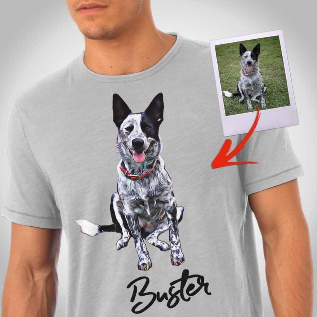 Personalized Dog Dads Shirt