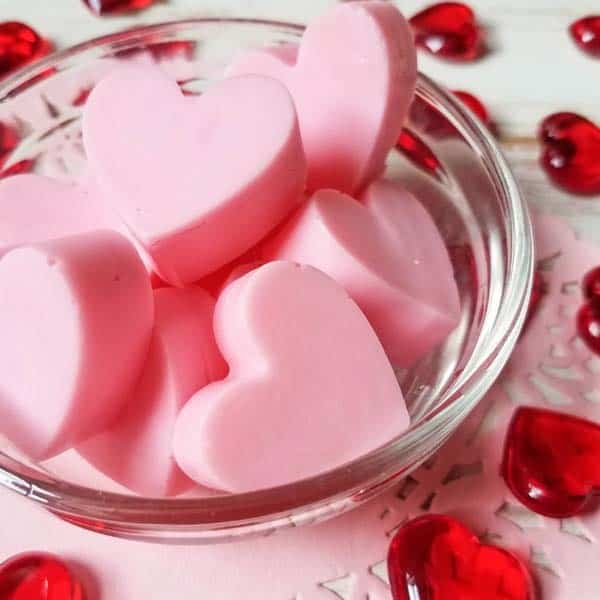 Strawberry Heart Soap