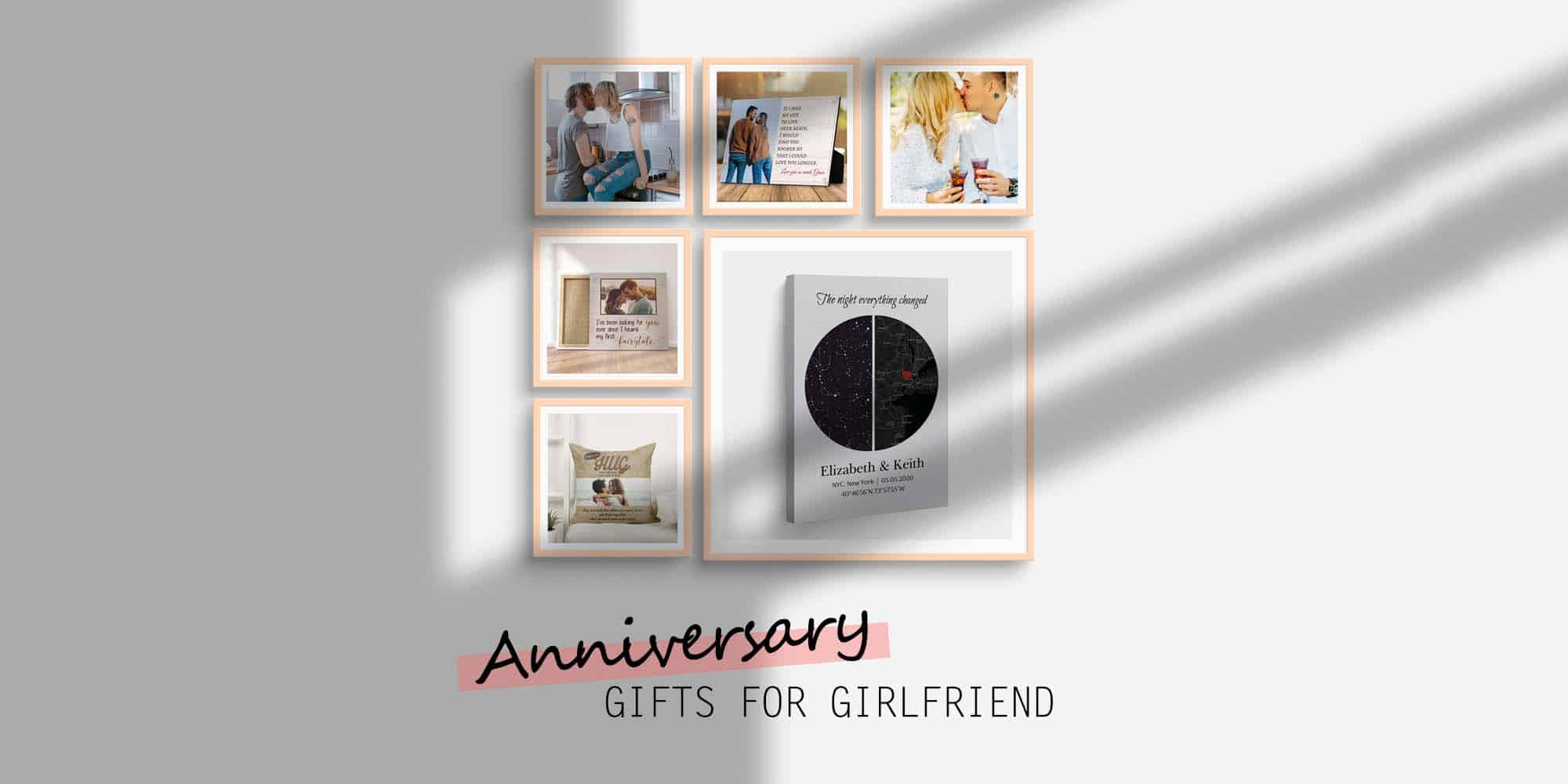 30+ Best Dating Anniversary Gifts for Your Girlfriend That She'll Love (2021)
