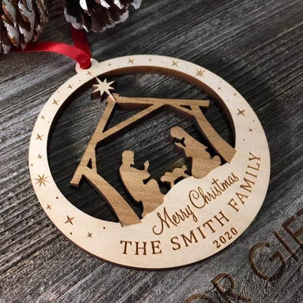 Family Name Ornament