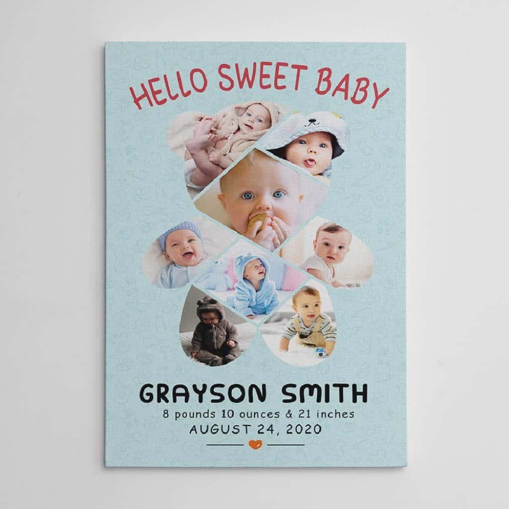 Custom gift for new mother