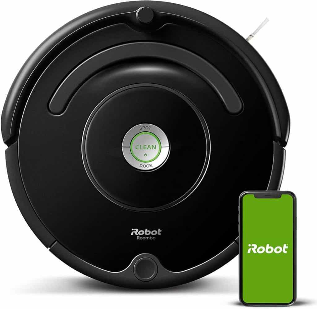 Roomba 675 Robot Vacuum with Wi-Fi useful gift for wife