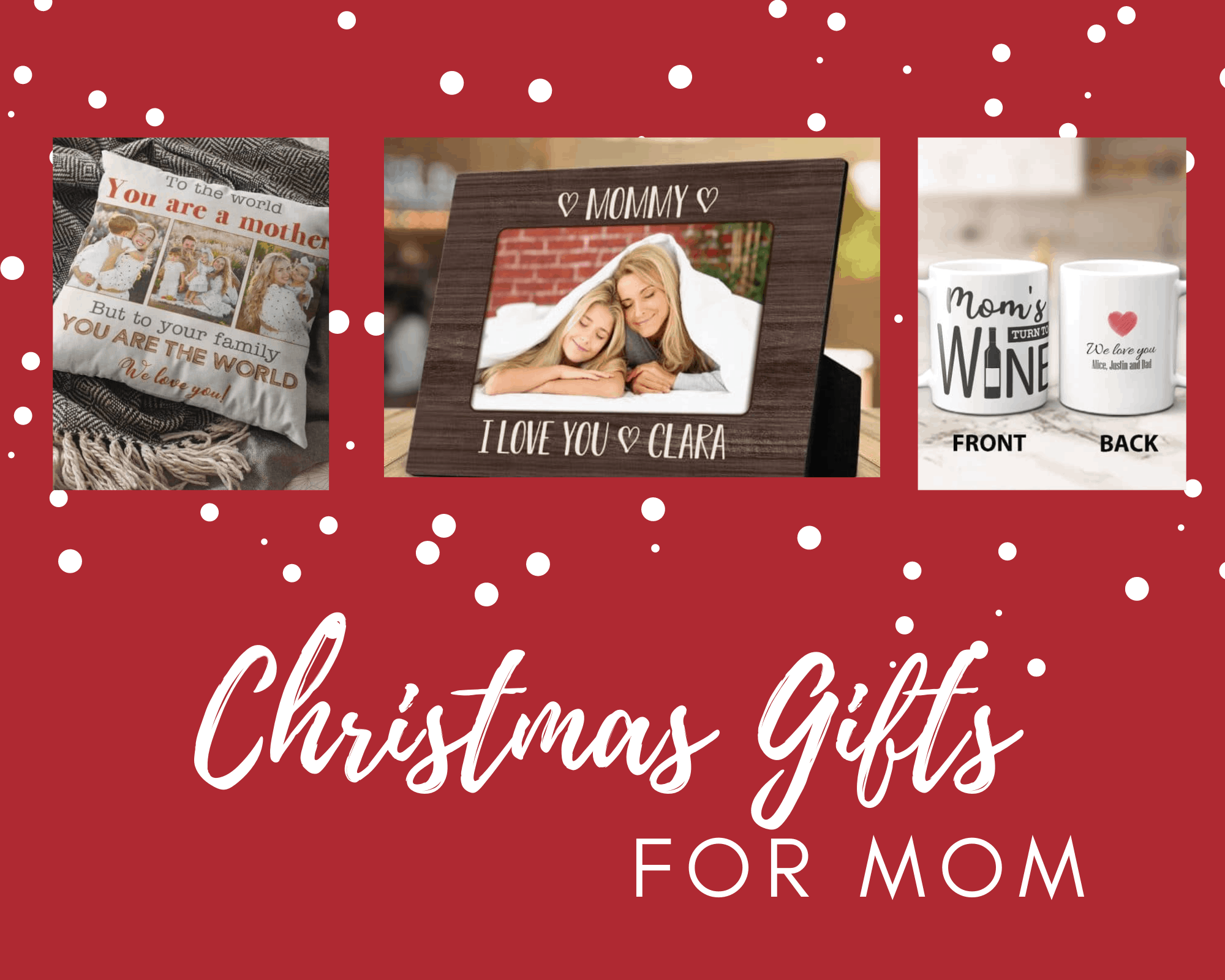59 Best Christmas Gifts for Mom That Bring Her Joy (2021)