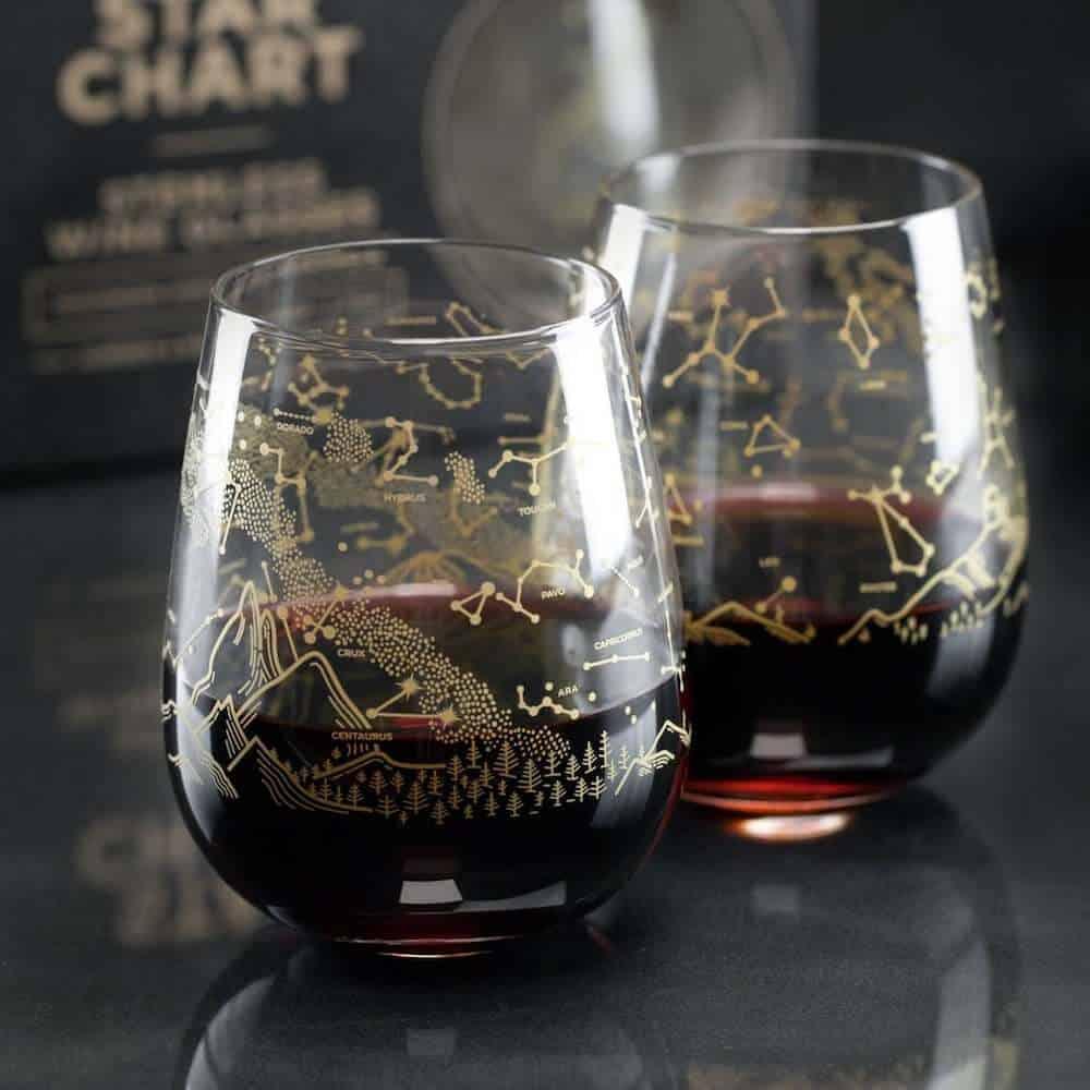 Southern Sky Wine Glass Gift