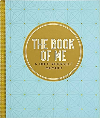 The Book of Me Autobiographical Journal gift that inspires for woman