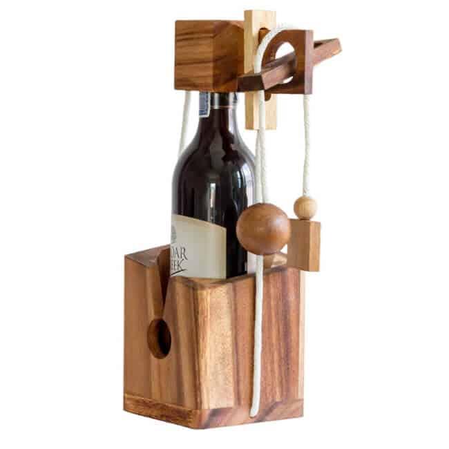 Wine Bottle Puzzle funny wine gift