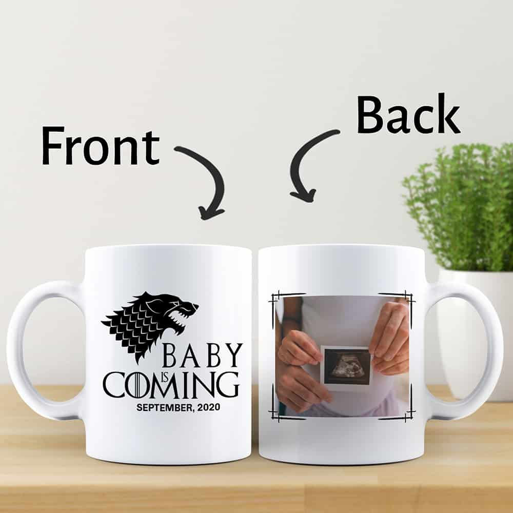lovely mug push gift for her