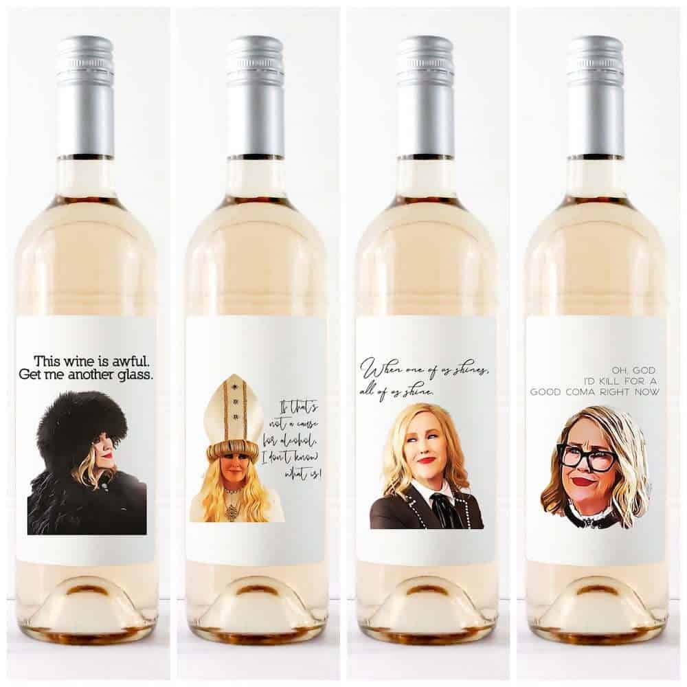 funny wine labels gift