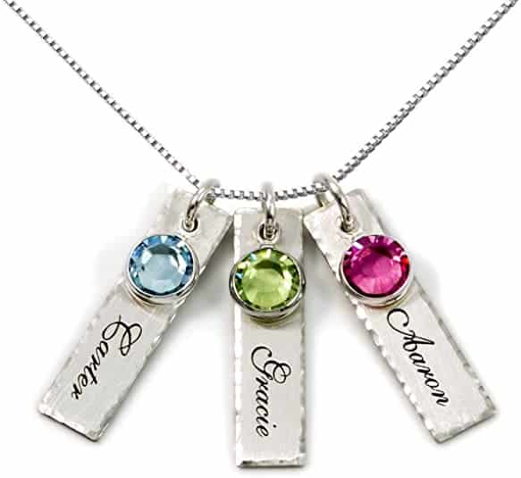 Personalized Charm jewelry for new mom and baby