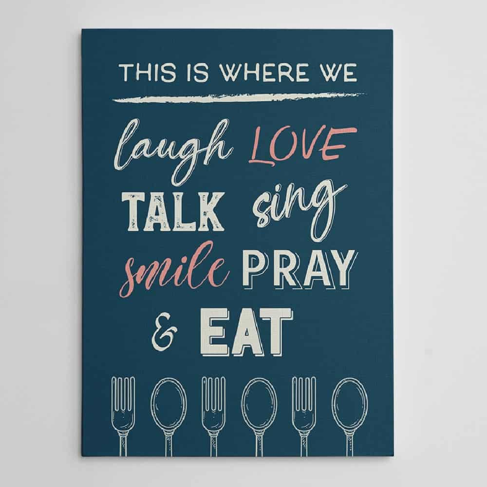 canvas print best housewarming gift for cooks