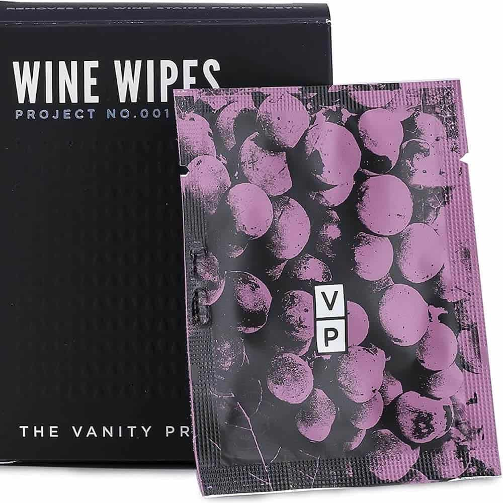 wine wipes stain removal for teeth