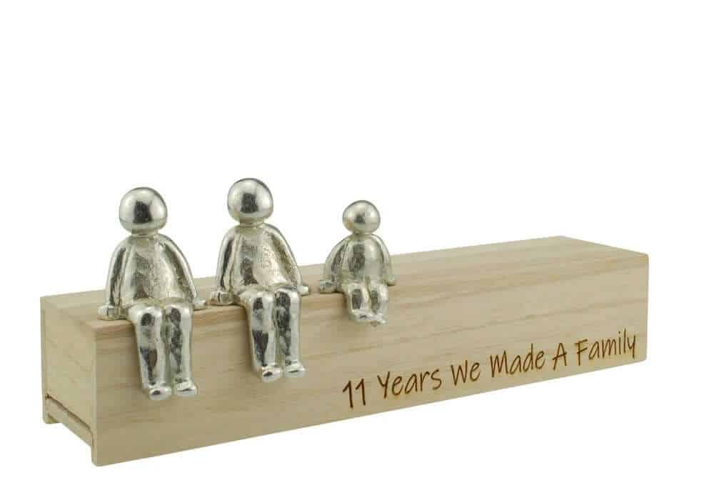 11 Years We Made a Family Sculpture Figurines