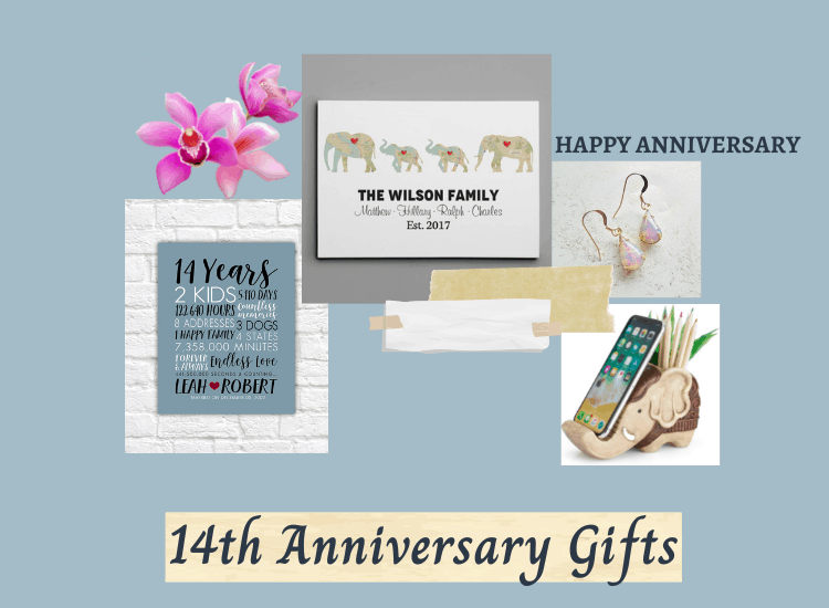 14 Year Anniversary Gift Ideas for Him, Her, and Couples
