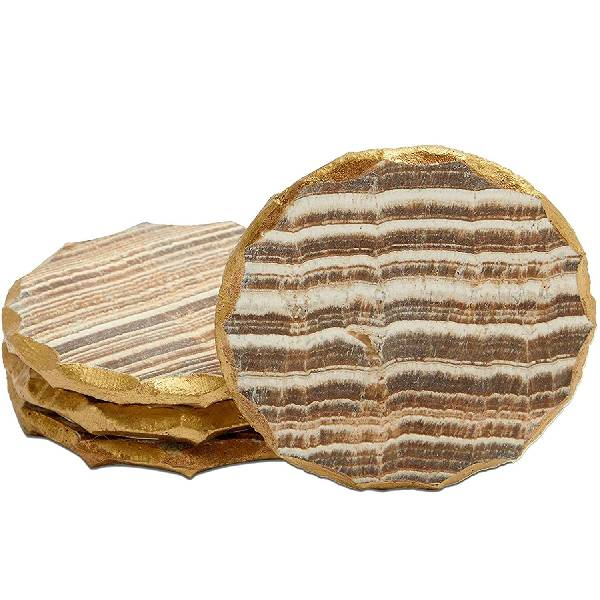 Aragonite Crystal Geode Coasters  cheap christmas gifts
