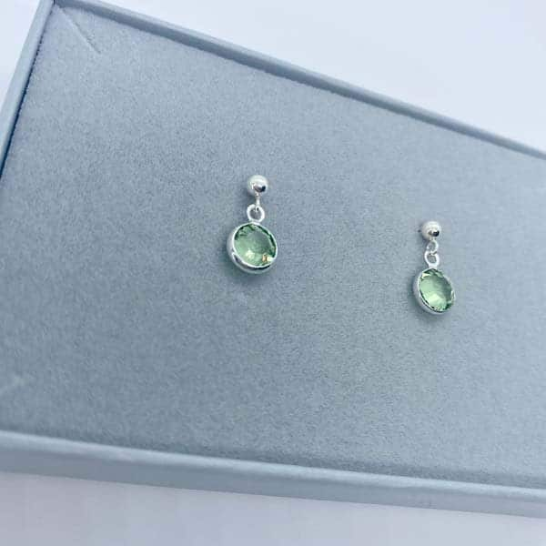 Birthstone Earrings: best godmother gifts