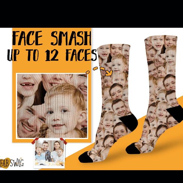 Family Photo Socks Family Gift Ideas