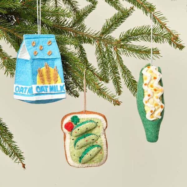 Felt Foodie Ornament  cheap christmas gifts