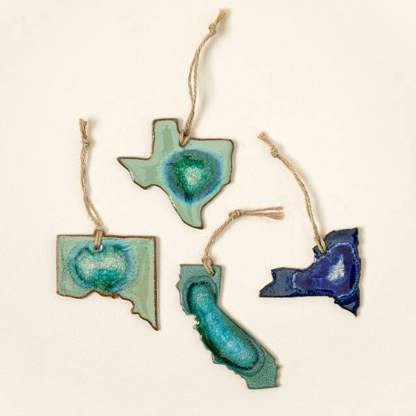 Geode State Ornament cheap christmas gifts