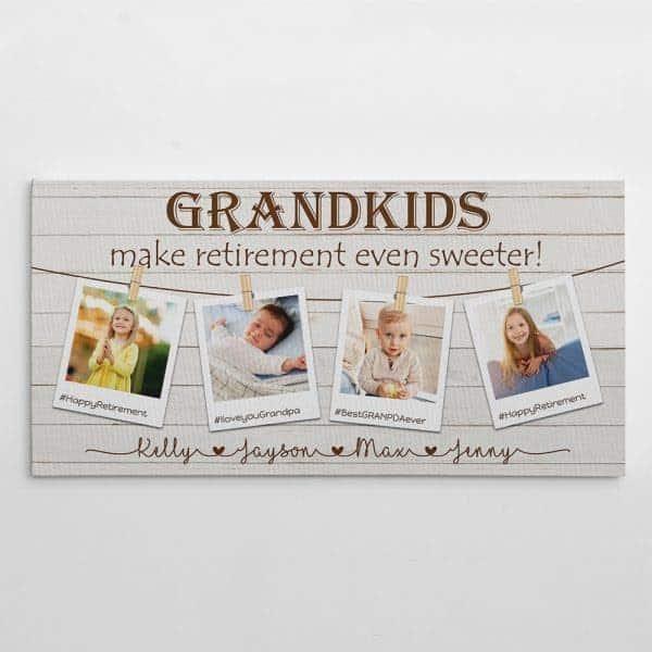 Grandkids Make Retirement Even Sweeter: retirement gift ideas for mom