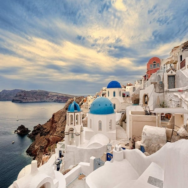 Greek Greece - Modern Monet Paint by Numbers Kits family gift ideas