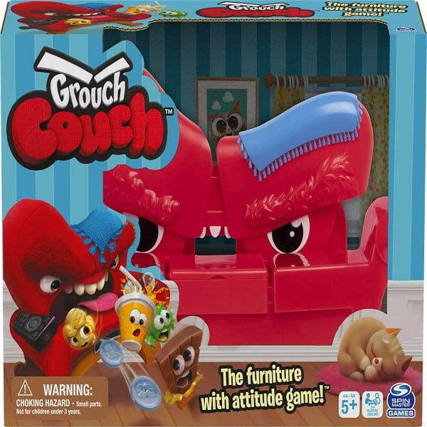 Grouch Couch, Furniture with Attitude Game for Families and Kids