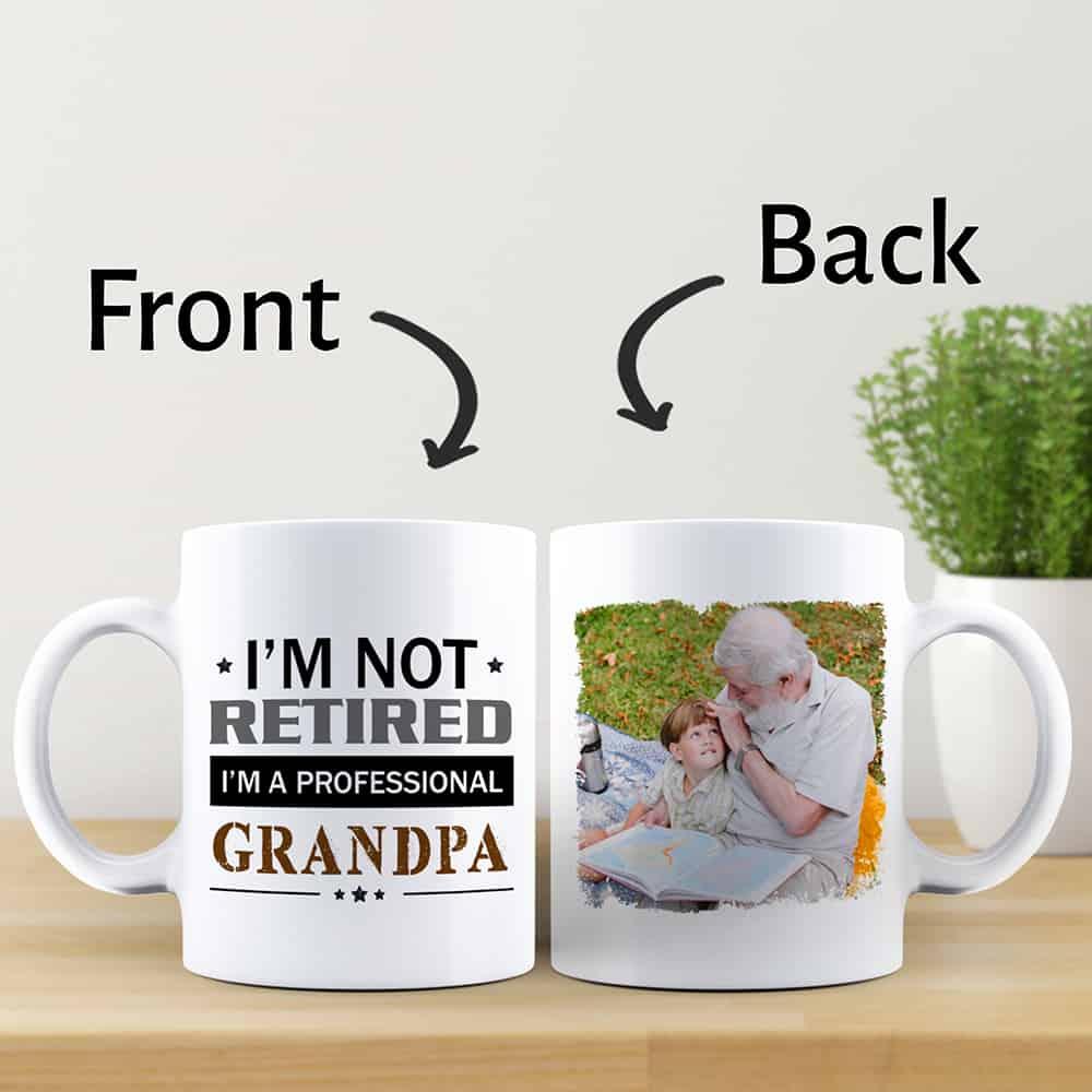 I'm A Professional Grandpa – Photo Mug