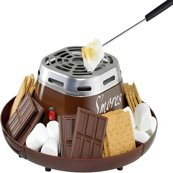 Indoor Electric Stainless Steel S'more Maker Family Gift Ideas