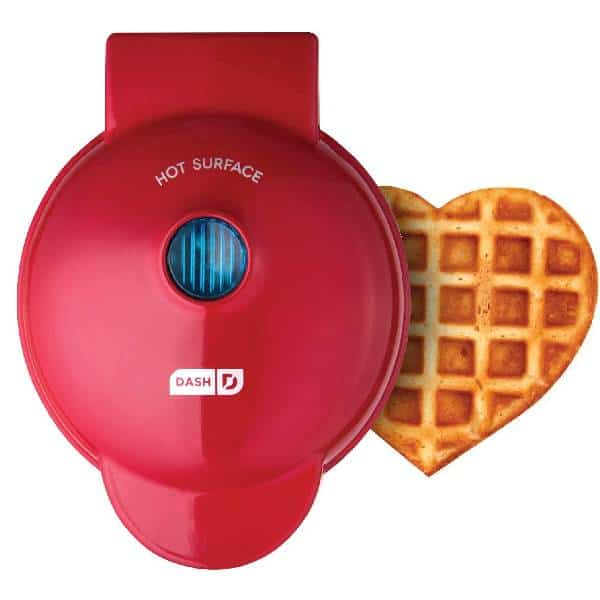 Mini Heart-Shaped Waffle Maker Cheap Christmas Gifts