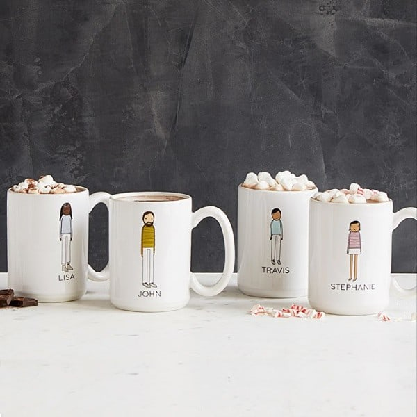 Personalized Mugs family gift ideas