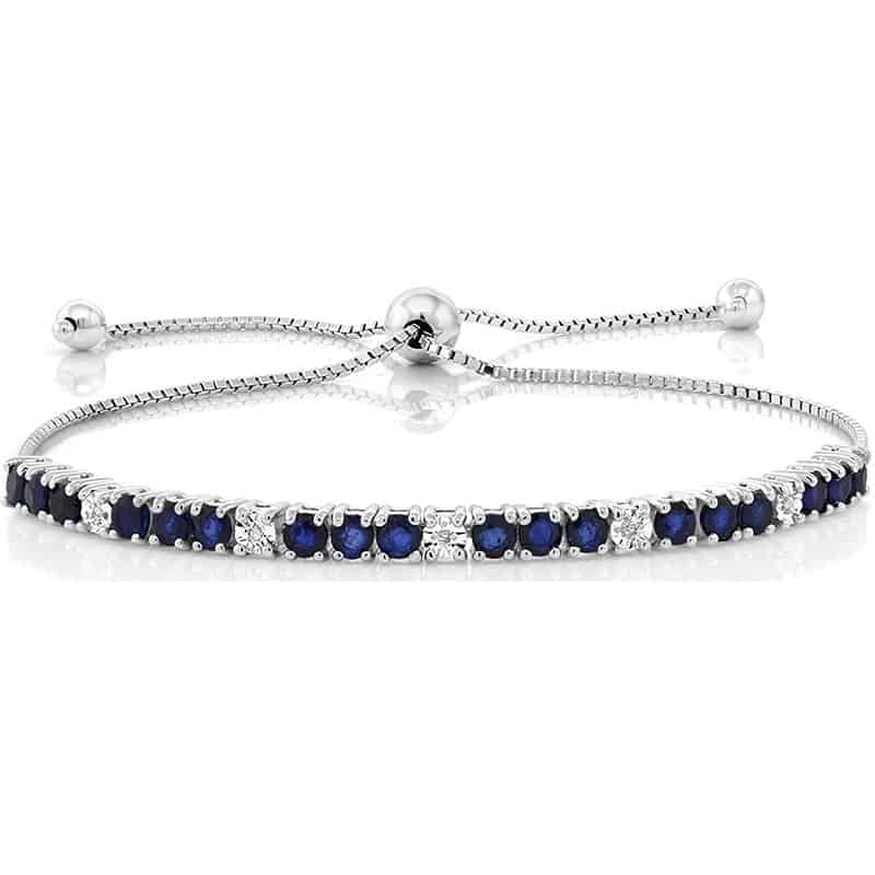 sapphire jewelry gift for wife