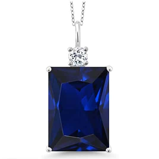 blue sapphire gifts for 45 year anniversary