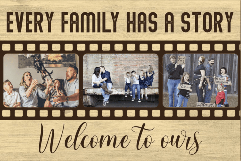 Funny Family Housewarming Gifts Canvas Print