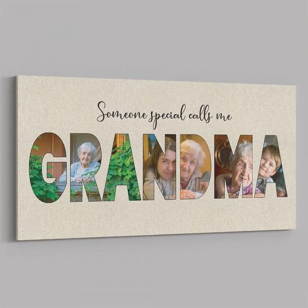 grandma pictures on canvas print