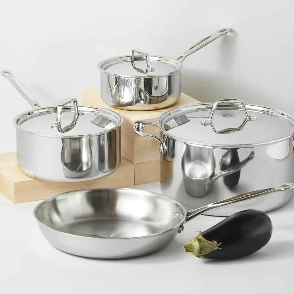Stainless Steel Cookware Set Gift for Wife on 11th Anniversary