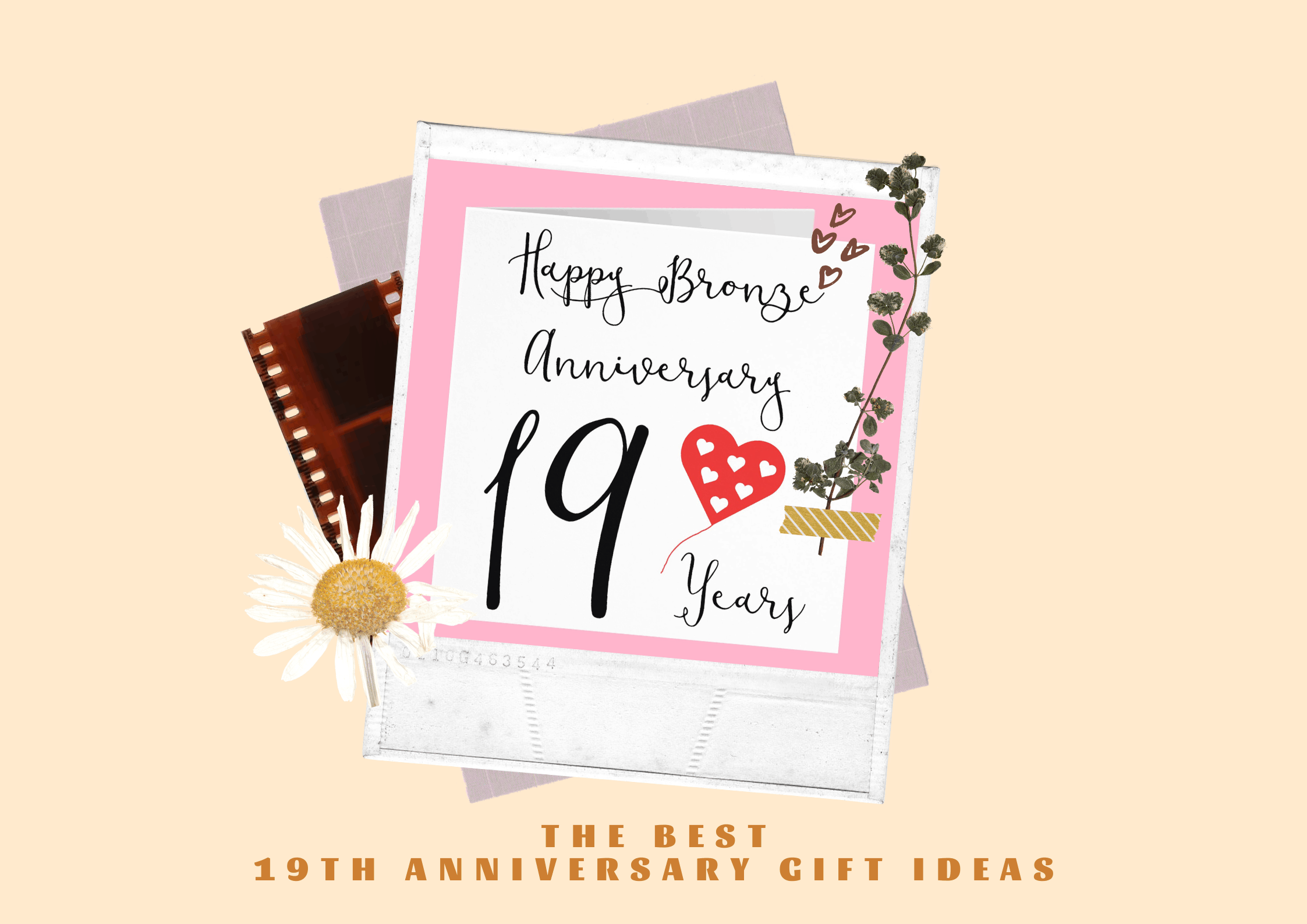 The Best 19th Anniversary Gift for Her, Him & Couple (2021)