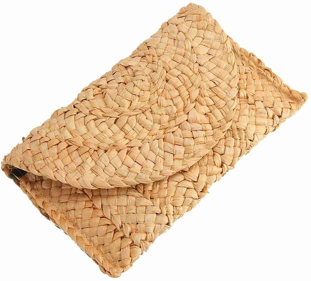affordable straw clutch gift for her