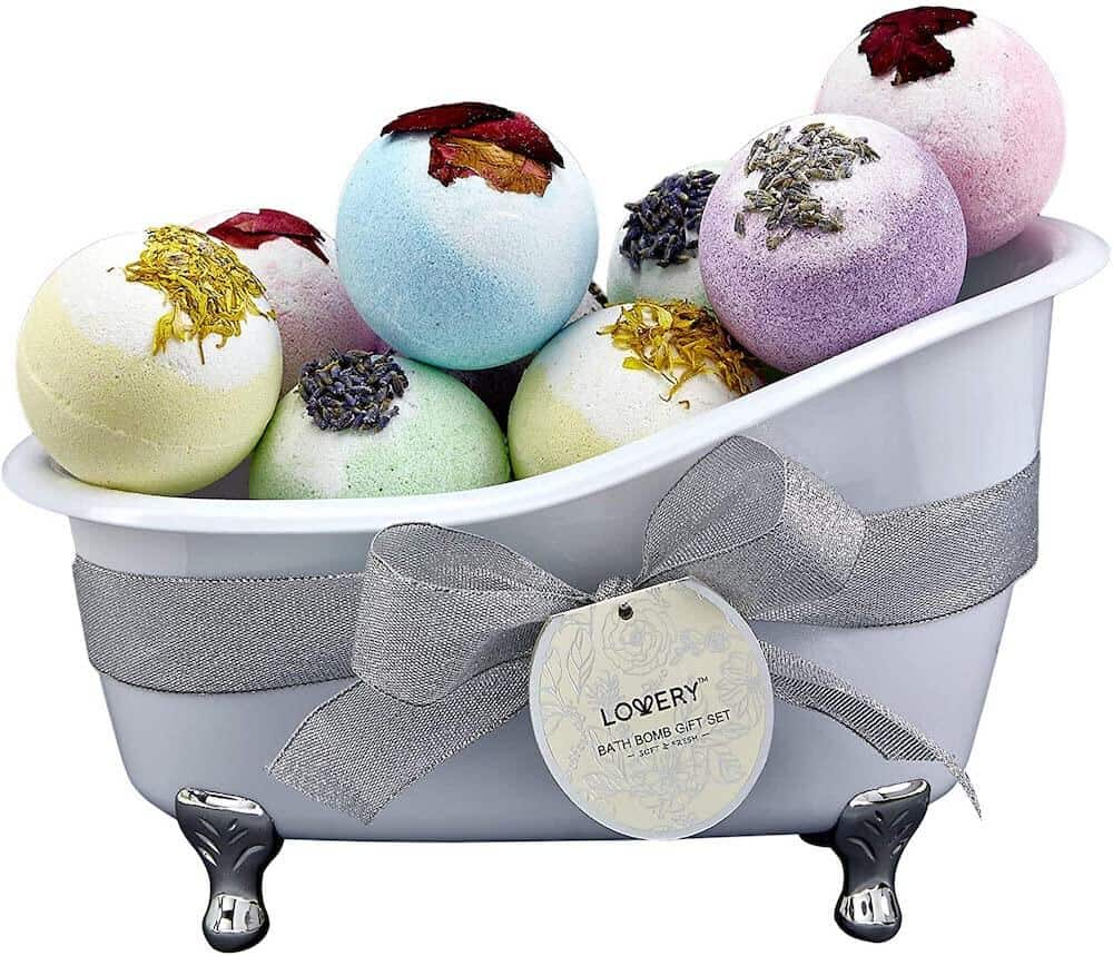 bath bombs gift set for her
