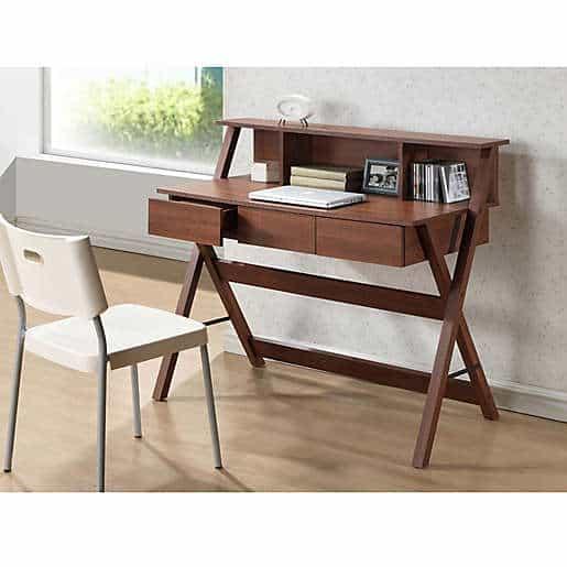 Writing Desk in Brown gift husband