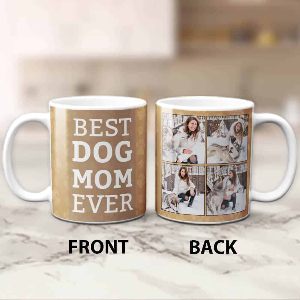 best dog mom coffee mug - small gifts for women