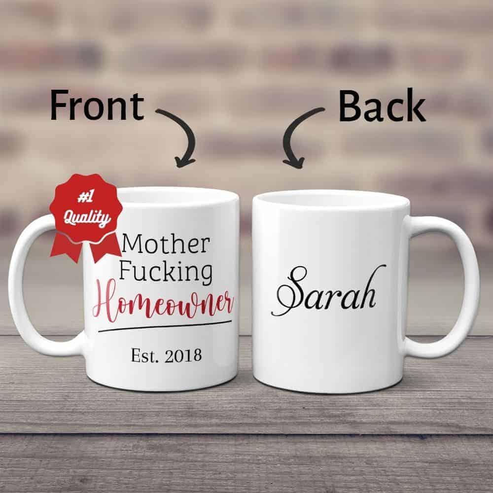 Custom Coffee Mugs funny housewarming gifts