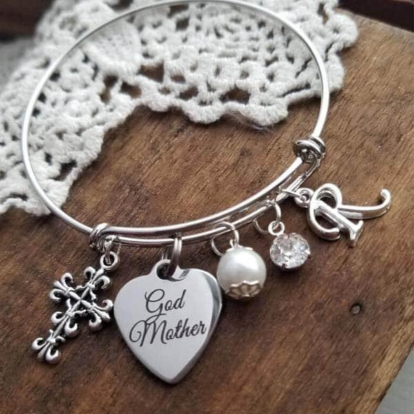 Godmother Bracelet: gift ideas for godmother