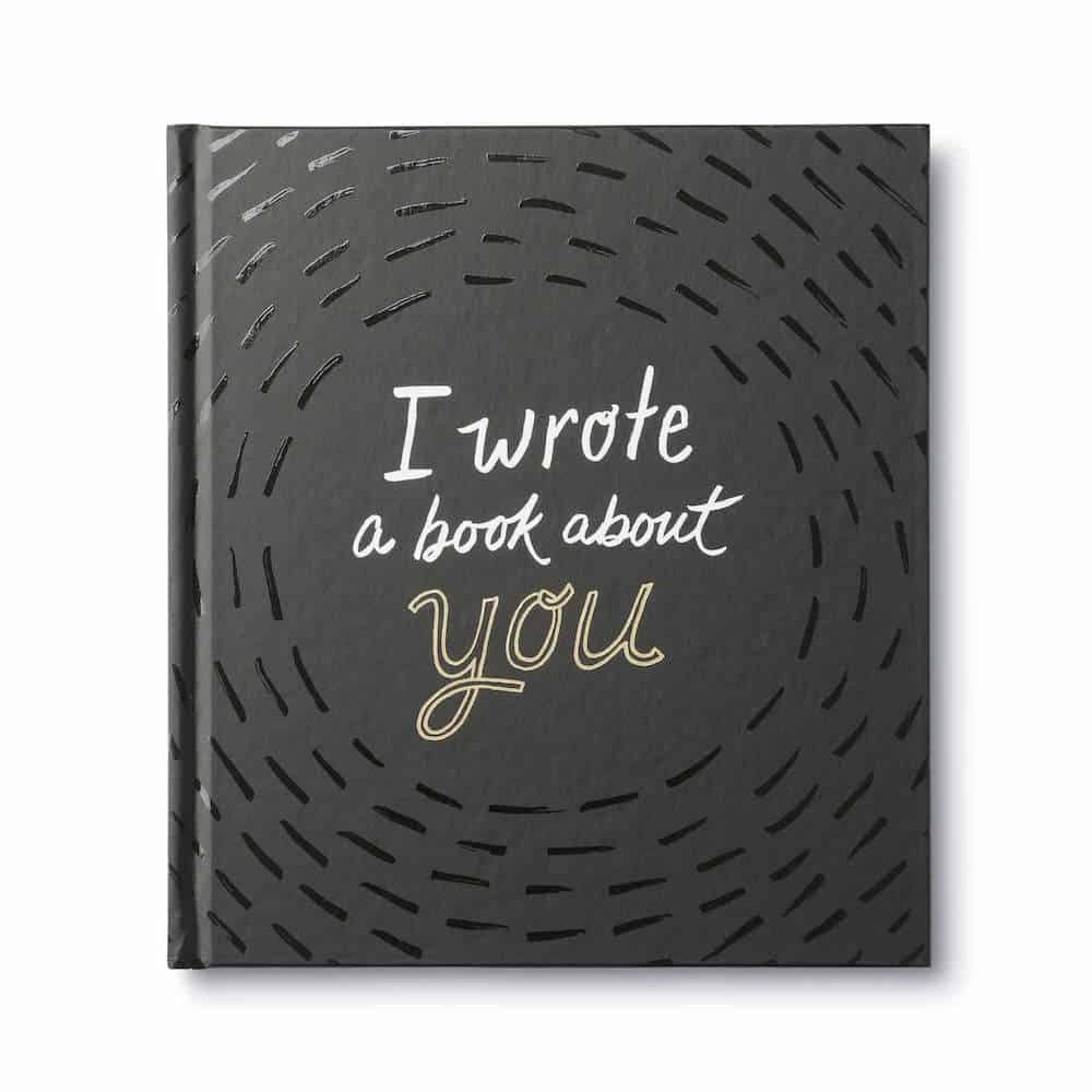 i wrote a book about you fill in the blank book gift for her