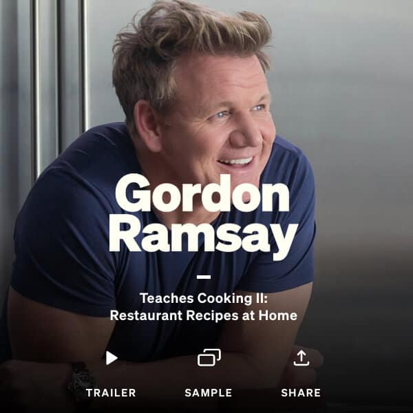 masterclass - cooking with gordon ramsay