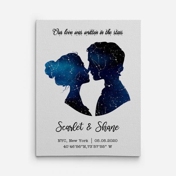 romantic sapphire theme gift