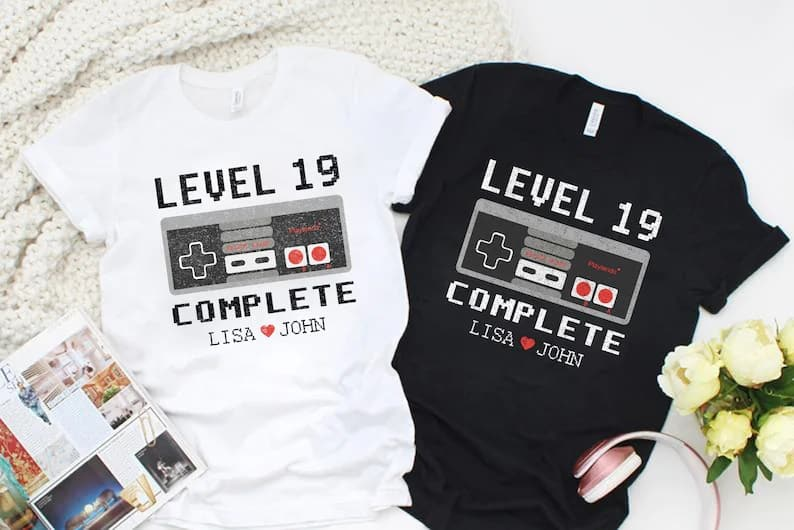 Personalized Level 19 Complete Shirt