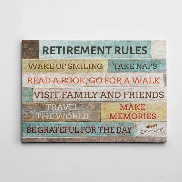 Retirement Rules: retirement presents for mom