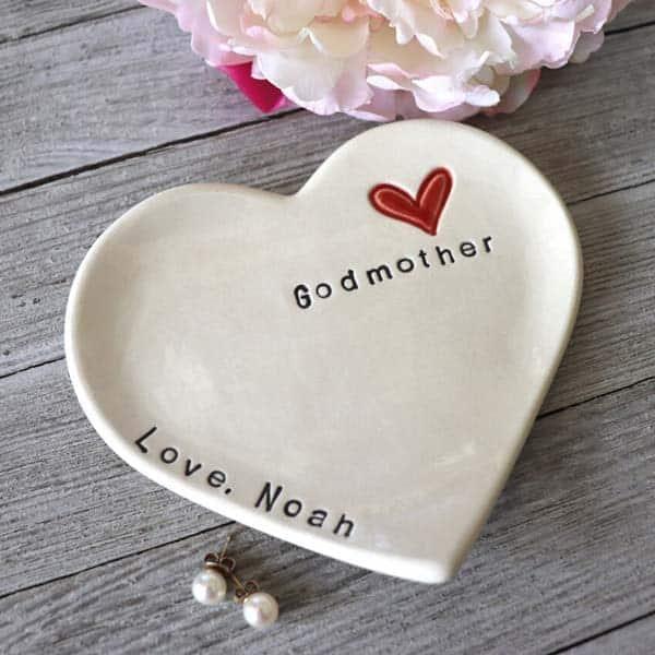 Ring Dish: godmother keepsake gifts