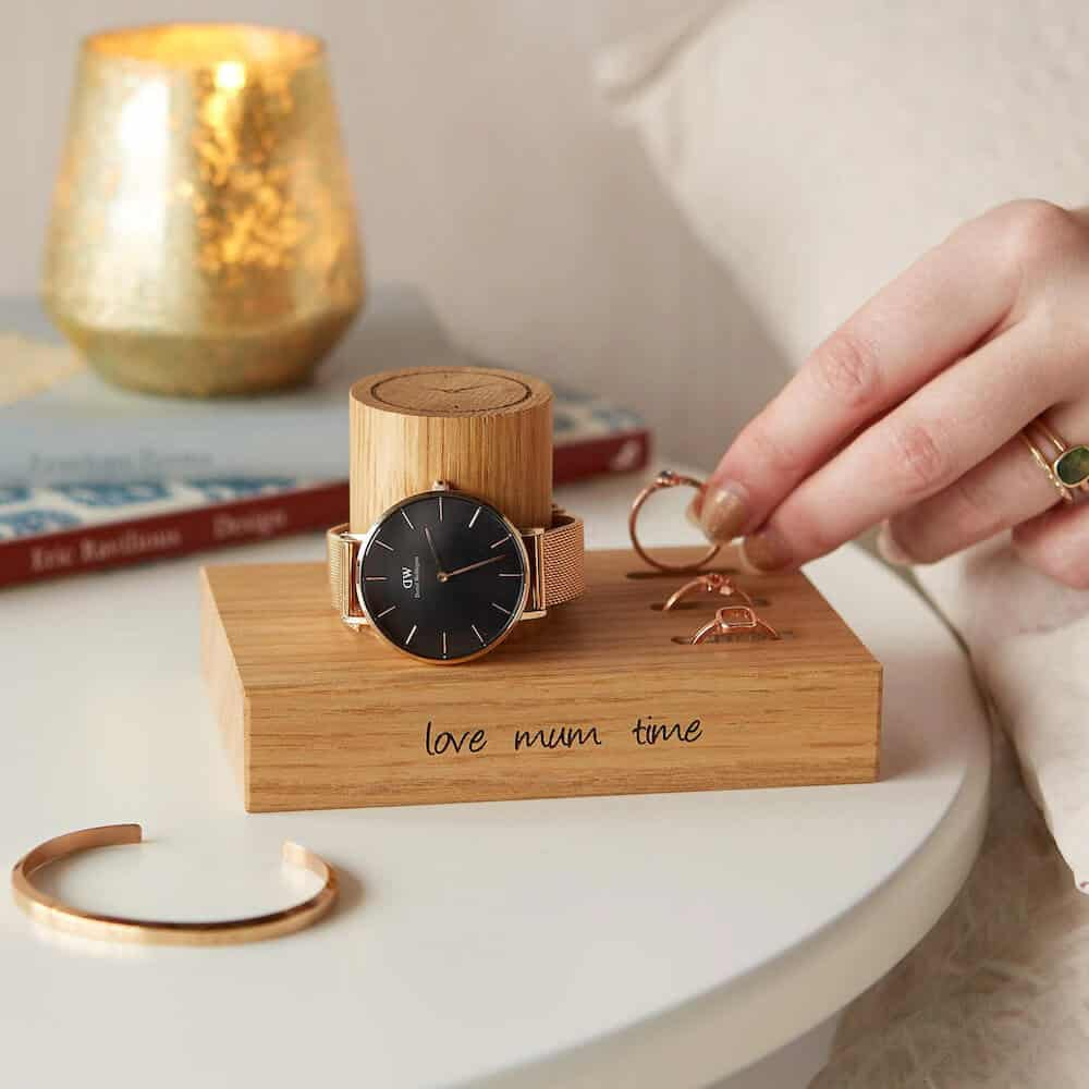 an affordable rings and watch stand for women