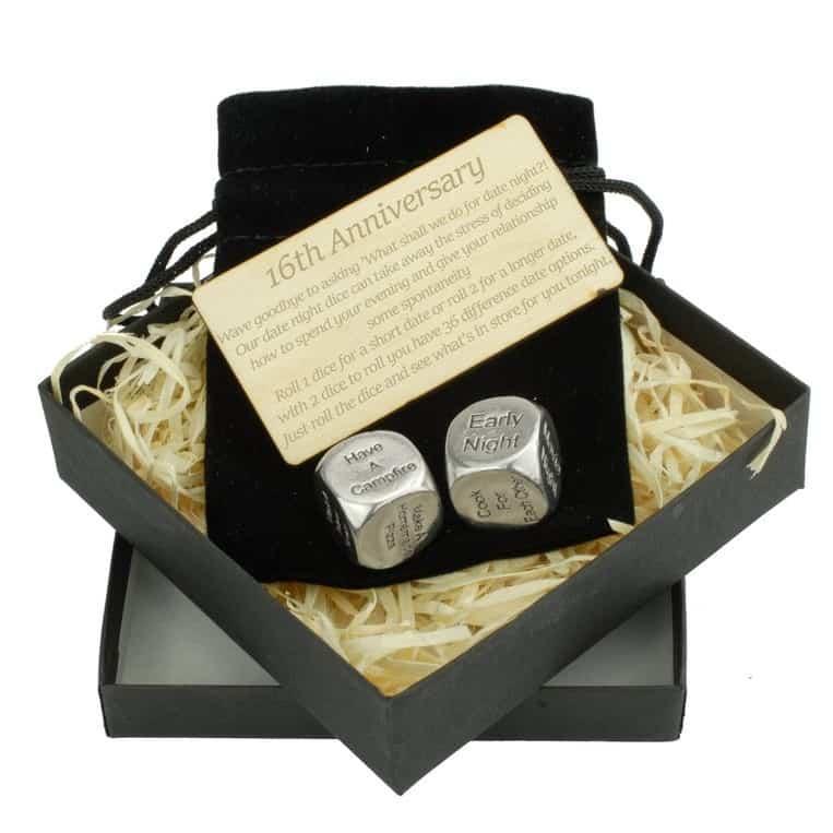 16th wedding anniversary gift ideas