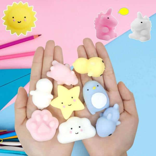 25 squishy friends Inexpensive Gifts For Coworkers